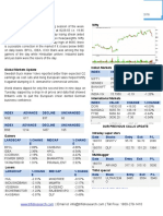 Equity Market Trend 20 July 16