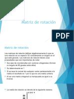 Matriz de Rotación (1)
