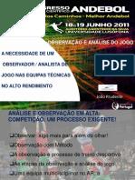 Observación y Análisis Del Juego. João Prudente