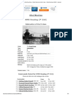 HMS Seadog Log