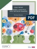 Business Analytics Briefing