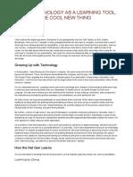 usingtechnologyasalearningtoolnotjustthecoolnewthing