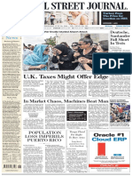 The Wall Street Journal Europe - 30 June 2016