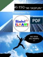 ESQ Training untuk persiapan Ujian Nasional MI/SD by Nur Ilmiatul_MI Yaspuri
