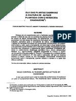 Alface-1980-Controle Das Plantas Daninhas Na Cultura de Alface Transplantada Com o Herbicida Oxadiazom