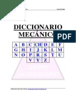 Diccionario Técnico en Mecánica [ES-En]