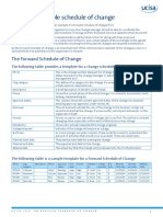 ITIL_an Example Schedule of Change PDF
