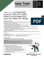 Hitachi DV16VSS