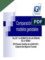 Comp Araci on Mode Los Geo i Dales
