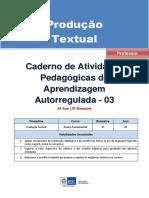 Producao Textual Regular Professor Autoregulada 8a 3b