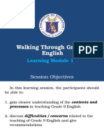 Walkthrough Module 1 English g9