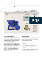Flex Separation Systems, P-separators 605615