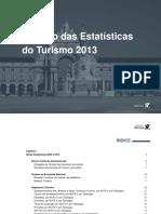 Anuaírio das Estatisticas do Turismo 2013 vf