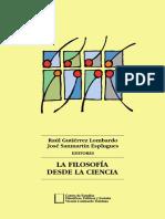 Gutierrez, San Martín - La Filosofía Desde La Ciencia
