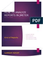 How to Analyze Reports in j Meter