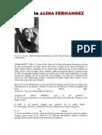 Alina Fernadez, Hija de Fidel,Comentario
