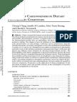 Inhibition of Carcinogenesis by Dietary