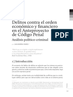 Delitos Contra El Orden Económico y Financiero