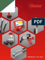 UK Product List 2016