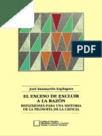 Sanmartín, El Exceso de Excluir a La Razón