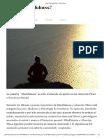 ¿Qué Es Mindfulness_ - Psyciencia