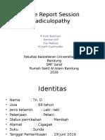 Crs Radikulopathy