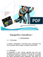 Topografia e Geodésia I - MAT APOIO-2014
