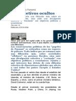 Papeles Panama USAID