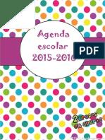 Agenda Spanish Teacher Planner