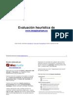 Ejemplo de Evaluacion Heuristic A