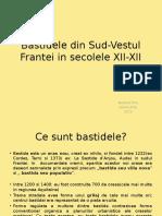 Bastidele Din Sud-Vestul Frantei in Secolele XII-XII