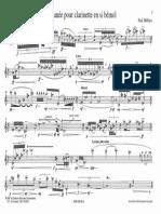 Paul Méfano - Instantanées (Clarinette)