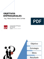 3 Objetivos Empresariales