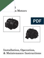 Manual Induction Motors