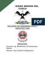Resumen de Capitulo 2.9 (GEOLOGIA)