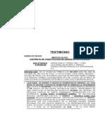 Contrato de Grantia Hipotecaria de Adrian Emilio Torres Ore y Profinazas