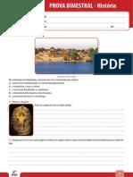 Ensino Fundamental Provas Bimestrais 2014 6o Ano Prova Bimestral 2 Caderno 2 Historia