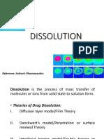 Lecture - 2 Dissolution