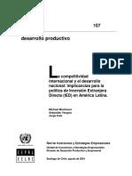 MORTIMORE VERGARA KATZ - La Competitividad Internacional
