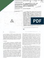 SOURROUILLE - El Desarrollo de Las Cuentas Nacionales