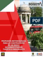 Investigacion Propuesta Metodologica Para La Construccion de Un Indice de Competitividad Turistico Para Bogota