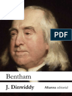 Dinwiddy. Bentham Biografia