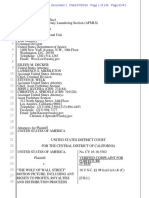 Wolf of Wall Street Complaint - Filed