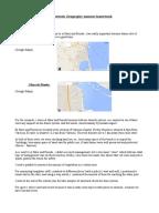 gcse geography coursework data analysis