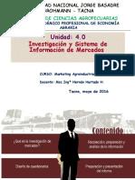 Unidad 4 2016 Investiga Mercados Mkt