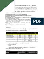 Cálculo de Diseño de Resortes Para La Zaranda