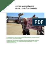 Las 65 Lecciones Aprendidas Por Richard Branson Como Emprendedor