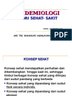 Epidemiologi-teori Sehat Sakit