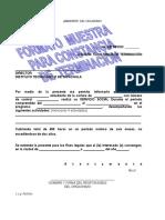 Formato Guia de Carta de Terminacion de Ss