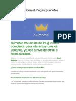 Cómo Funciona El Plug in SumoMe